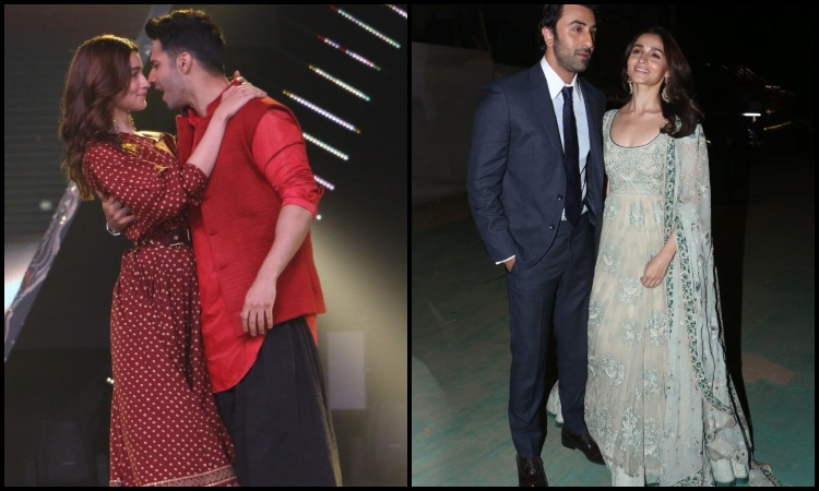 alia bhatt snapped in candid moment with varun dhawan and ranbir kapoor