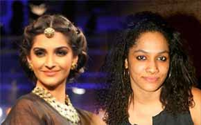 Masaba Gupta and sonam kapoor