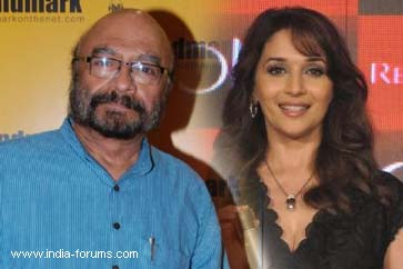 director shyam benegal and madhuri dixit