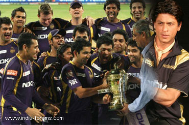 KKR win IPL 2012