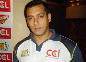 Salman khan Celebrity Cricket League