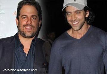 hollywood filmmaker Brett Ratner and hrithik roshan