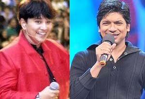 singer falguni pathak and shaan