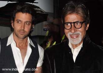 hrithik and amitabh bachchan
