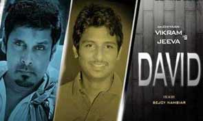 Tamil actor Jeeva in David Movie