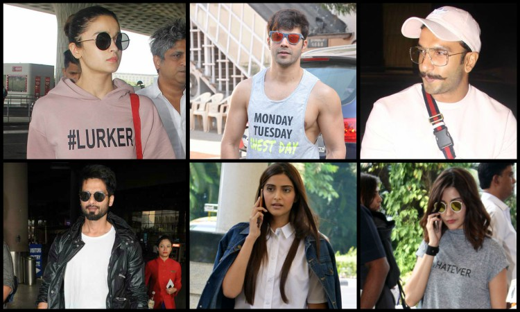 comfortable airport looks bollywood celebrities follow