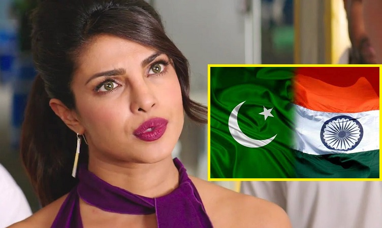 priyanka chopra in trouble for supporting india over pakistan