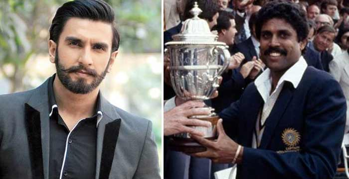 ranveer singh can play kapil dev