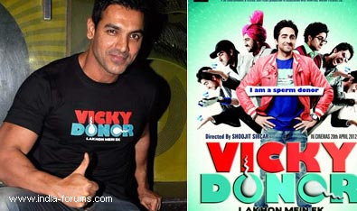 Not thought about 'vicky donor' sequel: John