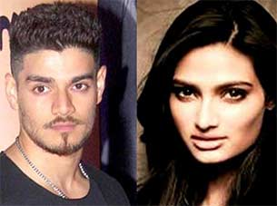 suraj pancholi and athiya shetty