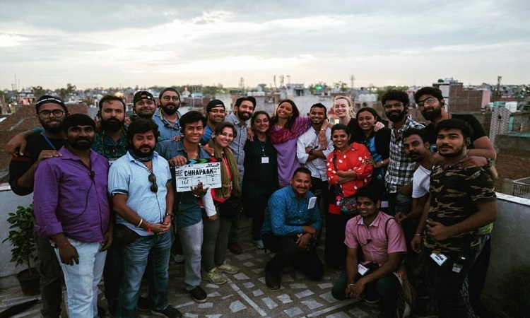meghna gulzar posts wrap up pics