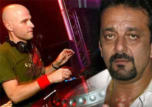 DJ Marco V and sanjay dutt