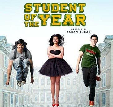 karan johar's movie student of the year