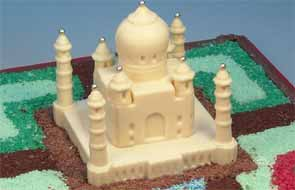 Tajmahal Shaped Milk Chocolate