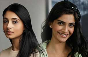 designer Pernia Qureshi and sonam kapoor