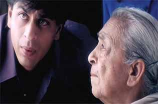 shahrukh khan and zohra sehgal