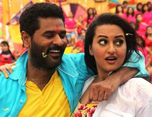 sonakshi sinha and prabhu deva