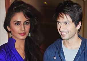 shahid kapoor and huma qureshi