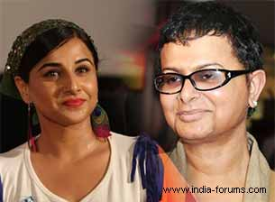 vidya balan and rituparno ghosh