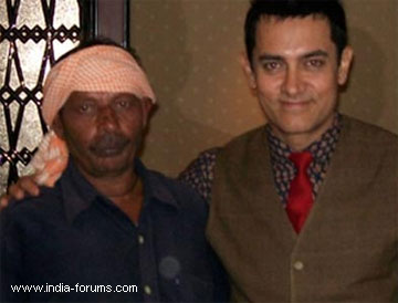 aamir khan and his frind rickshaw puller ram lakhan