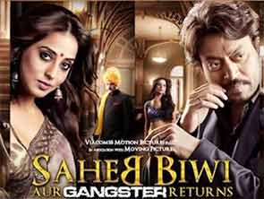 saheb bBiwi aur gangster returns movie review