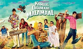 movie review of kamaal dhamaal malamaal