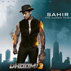 Amir Khan in dhoom 3 movie