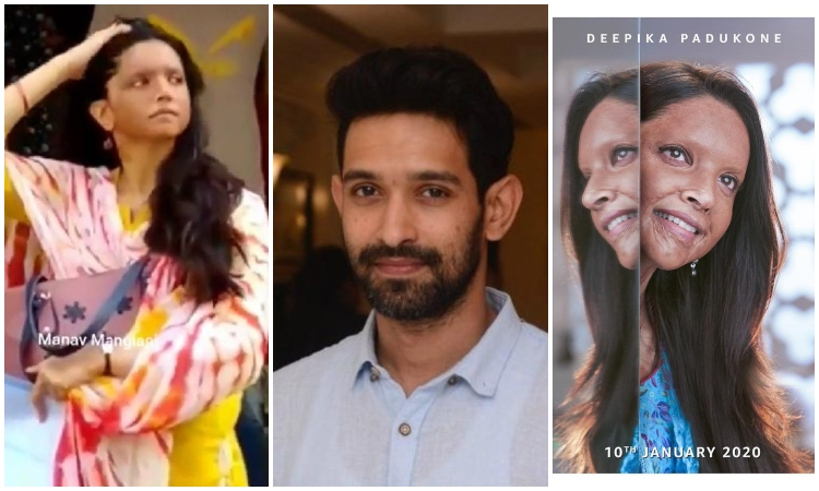 deepika padukone and vikrant massey starring in chhapaak