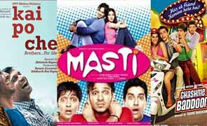 Kai Po Che, Grand Masti and Chashme buddoor