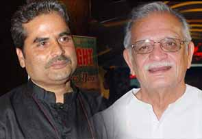Vishal Bhardwaj and gulzar