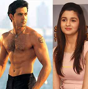 alia bhatt and hrithik roshan