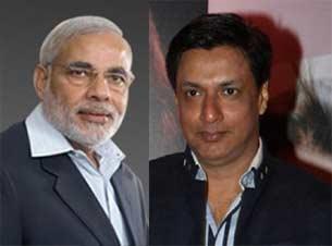 filmmaker madhur bhandarkar and Norendra Modi