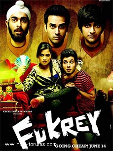 fukrey movie