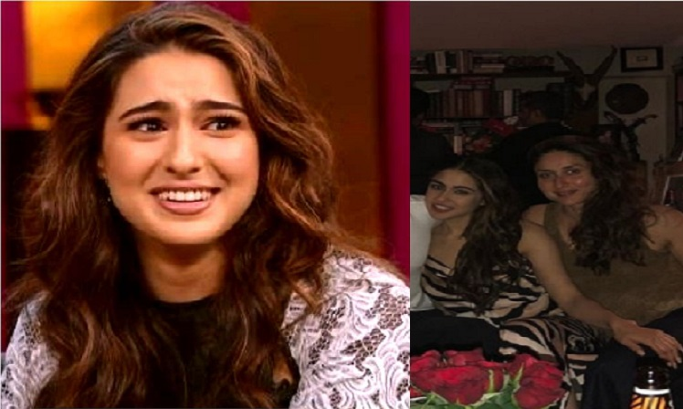 sara ali khan reaction when a fan called kareena her mother