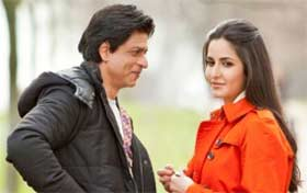 Shahrukh Khan and kartina kaif