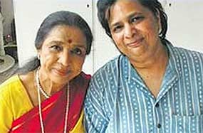 varsha bhosle daughter of asha bhosle suicide