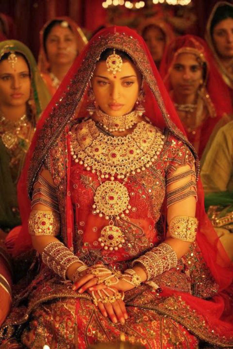 aishwarya rai as jodha bai