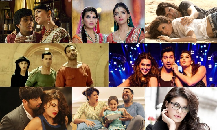different roles played by jacqueline fernandez