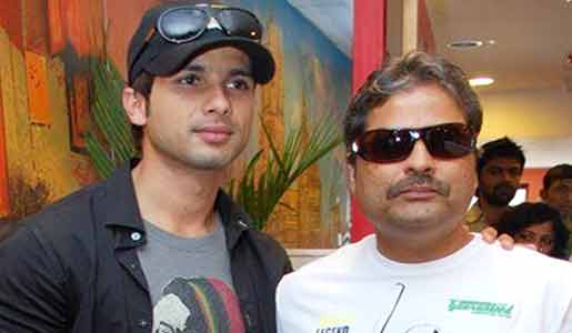 Vishal Bhardwaj and Shahid kapoor
