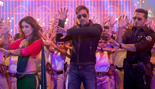singham returns movie song Aata Majhi Satakli