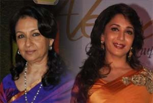 sharmila tagore and madhuri dixit
