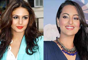 sonakshi sinha and huma qureshi