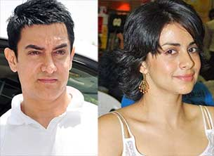 gul panag and aamir khan