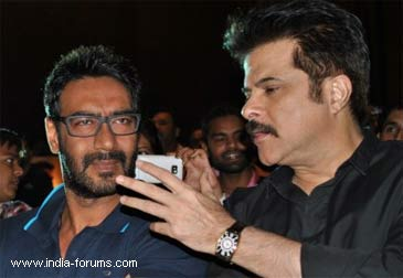 ajay debgan and anil kapoor
