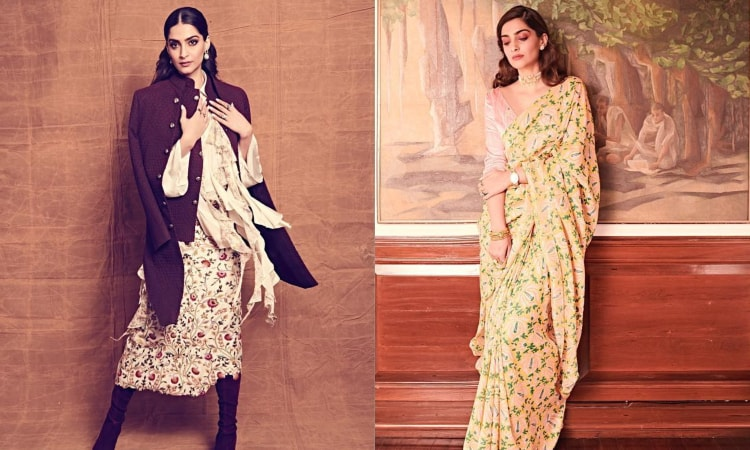 sonam kapoor takes on the floral trend in her recent fashion outings