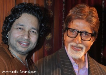 kailash kher and big b