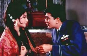 rajesh khanna in aradhana movie