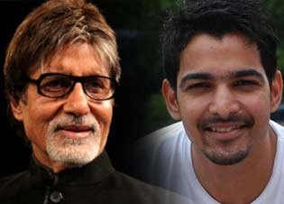 Harshvardhan Rane and amitabh bachchan