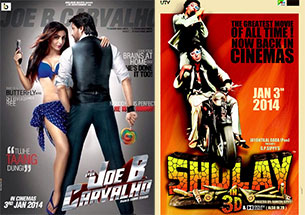 Mr. Joe B Carvalho and sholay 3d