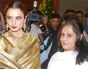 rekha and jaya bachchan